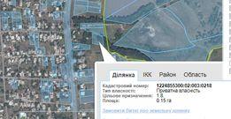 Участок в посёлке Илларионово