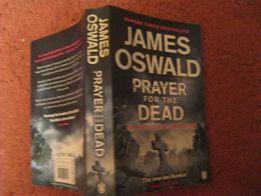 детектив книга английский James OSWALD Prayer for the Dead Дж Освальд