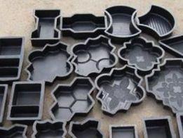 формы резиновые тротуарной плитки