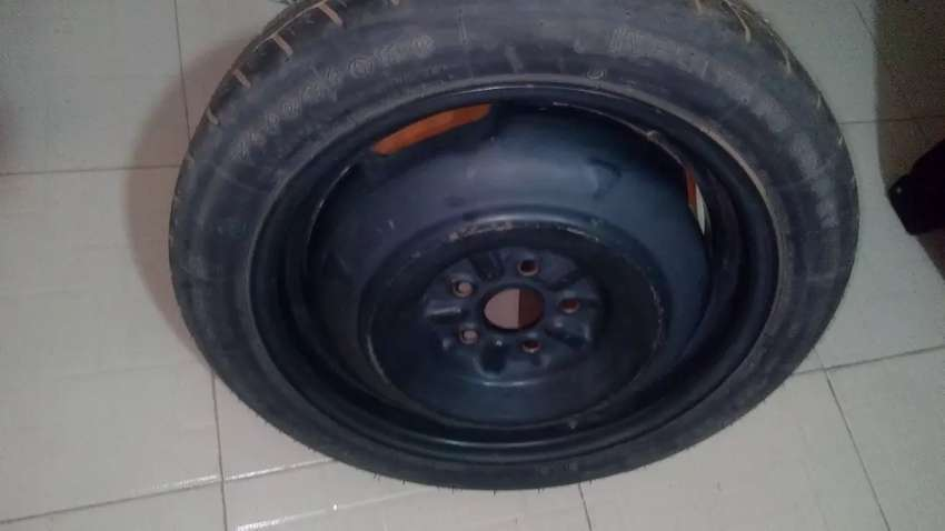 Firestone spare tyre with RIM 16. 125/70 R16 0