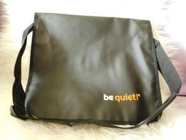 Torba na laptopa z logiem BeQuiet - Nowa