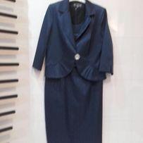 Komplet sukienka z żakietem