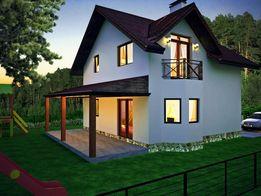 Продам дом в заселенном коттеджном городке. Горенка