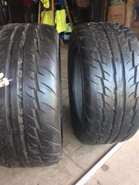 Image of 2 x 225x45x17 Tyres for sale
