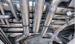 Вентиляция кондиционеры, монтаж оборудования.