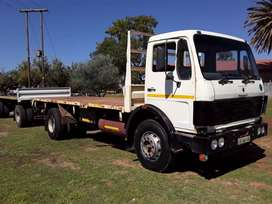 Mercedes Benz 1419 Trok & Trailer