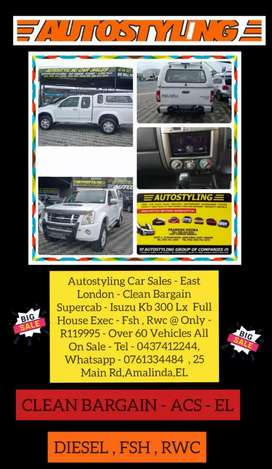 Autostyling East London - Bargain 08 Isuzu Supercab 300LX Full House