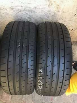 2 × 225 / 45 / 17 continental tyres for sale