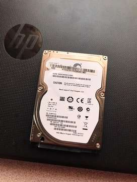 500gigs laptop hard drive for sale