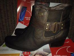 Ботинки ботильоны кожаные 36 р стелька 23 Италия натуральная кожа