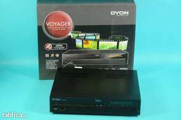 Tuner satelitarny DYON VOYAGER HD SD wraz odtwarzaczem DVD
