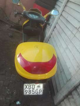 Scooter carrier boks for sale ,R400