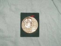 Медаль настольная Ленин под золото