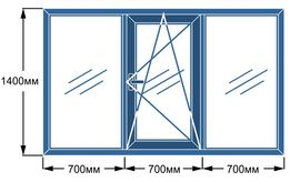 Окна из четырехкамерного профиля с гарантией 10 лет