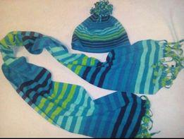 Комплект шарф длинный и шапка
