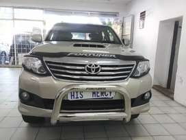 2014 TOYOTA FORTUNER 3.0 4X4 AUTOMATIC