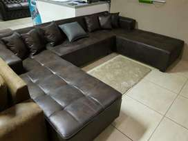 New u shape couches