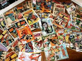 Cash Offered for Comics