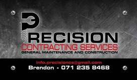 Precision Contracting Services (General Maintenance and Construction)