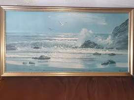 Used large picture frame