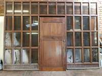 Image of Solid wood window and door