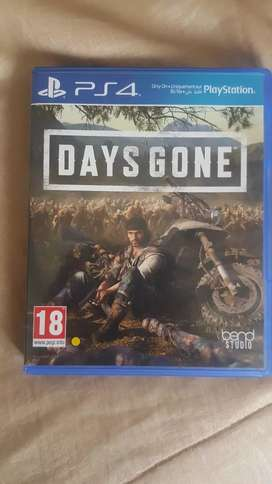 Days gone for sale or swop