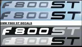 2012 F800 ST decals stickers graphics set