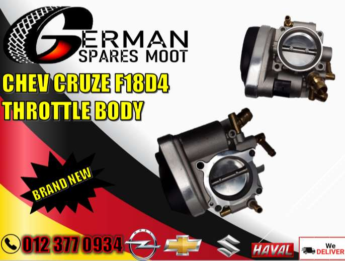 Chev new and used parts-Chev Cruze F18D4 throttle body