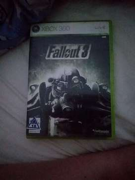 Xbox 360 fallout 3 game