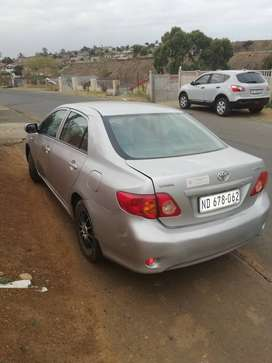 Toyota corolla 2010 model Grey in color in running condition