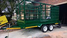 Cattle Trailers Custom built from R32500