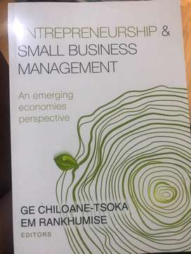 Entrepreneurship and Small Business Management. G.E Chiloane