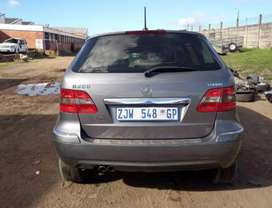 Mercedes Benz B200 W245 auto stripping for Spares