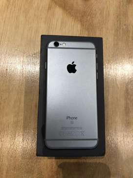 Silver iPhone 6S 128Gb
