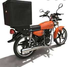 Looking for a delivery bike driver