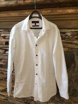 Biała koszula Next 16 (41cm) Slim fit.
