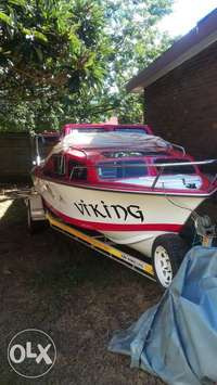 neat cabin boat with 85yamaha motor for sale  South Africa