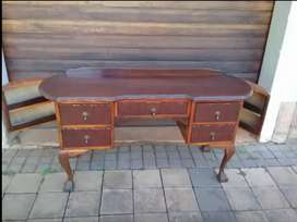 Antique ball & claw table