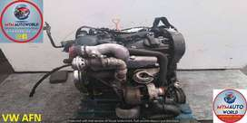 GOLF/PASSAT/POLO 1.9L 4CYL TDI AFN USED ENGINES FOR SALE