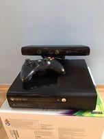 Xbox 360 E 4GB + dysk twardy 200GB