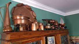 Variety of copper items