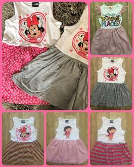 Kids character tees, dresses and affordable ladies leather sandals