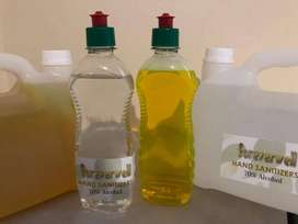 Hand Sanitizer and Surface Cleaner / Surface Disinfect