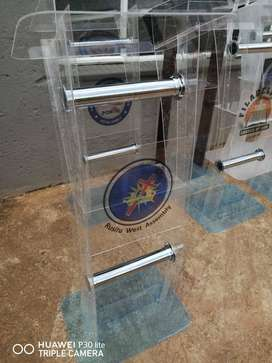 Assorted Transparent Pulpits on SALE