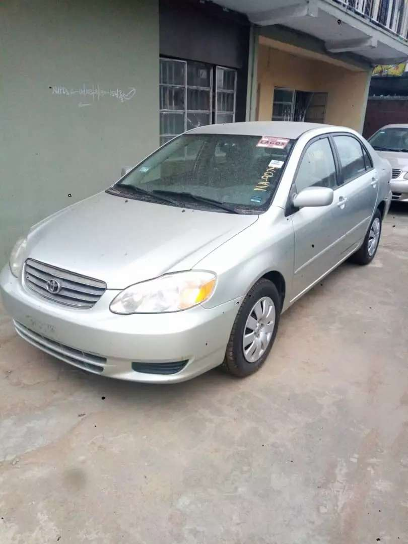 Toyota corolla 2004 for sale 0