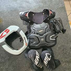 Motorcross protection gear