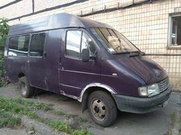 ГАЗель, 1996г.в, газ-бензин, грузопассажир