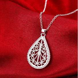 Women's Fashion Silver Plated Necklace