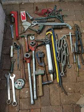 Various tools plus large tool box