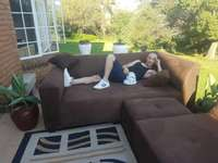 Image of Large L Shape Corner couches. Include delivery in midrand area. 2.2x m